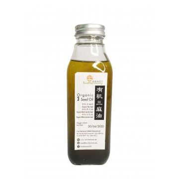 Organic 3 Seed Oil