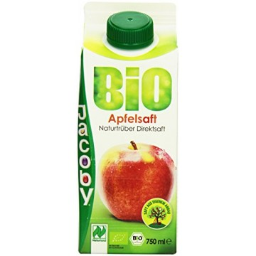 Jacoby Organic Apple Juice (750ml)