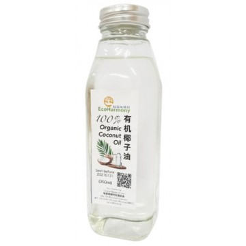 Eco-Harmony 100% Organic Coconut Oil
