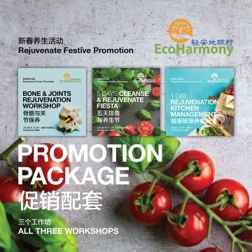 Rejuvenate Festive Promotion Package (All 3 Workshops)