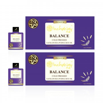 Inchaway - Balance (Sacha Inchi & Purple Rice Oil)