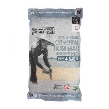 Thai Organic Crystal Hom Mali Brown Rice
