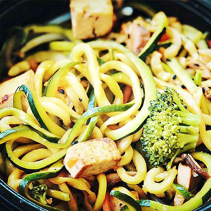 Asian Zucchini Pasta