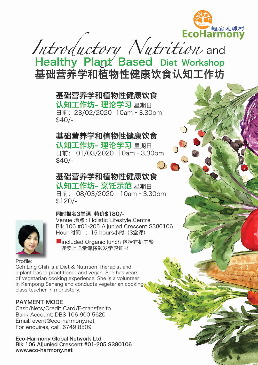 Introductory Nutrition & Healthy Plant Based Diet Workshop